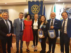 Incontro con il Sindaco di Alba, Carlo Bo e l'Assessore alla Cultura, Carlotta Boffa
