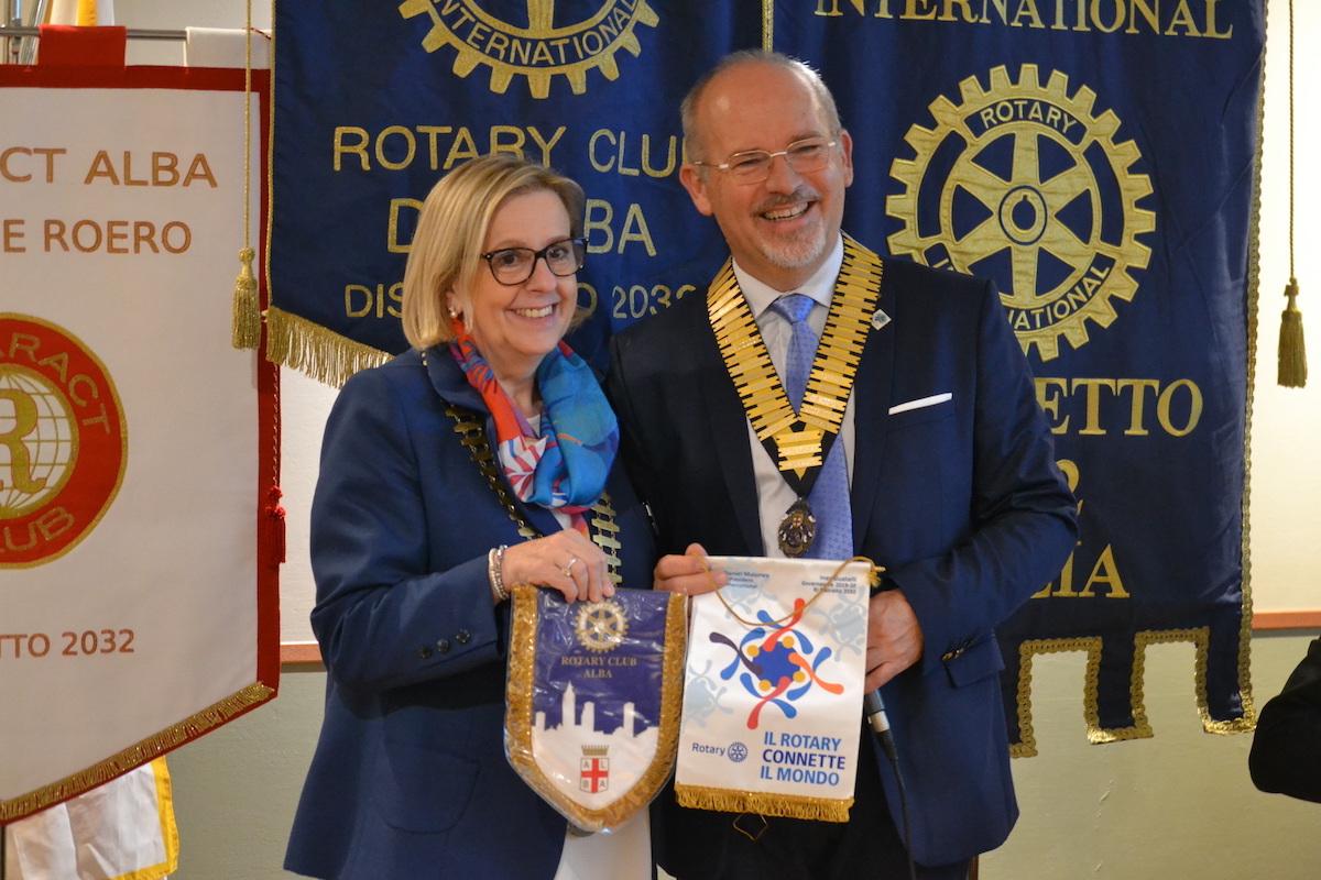 Visita del Governatore del Distretto 2032 al Rotary Club di Alba