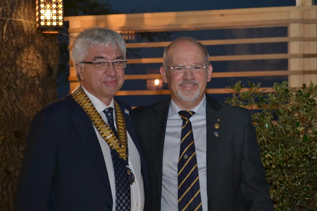 Consegna Premio Rotary Alba 2020 e Passaggio del collare