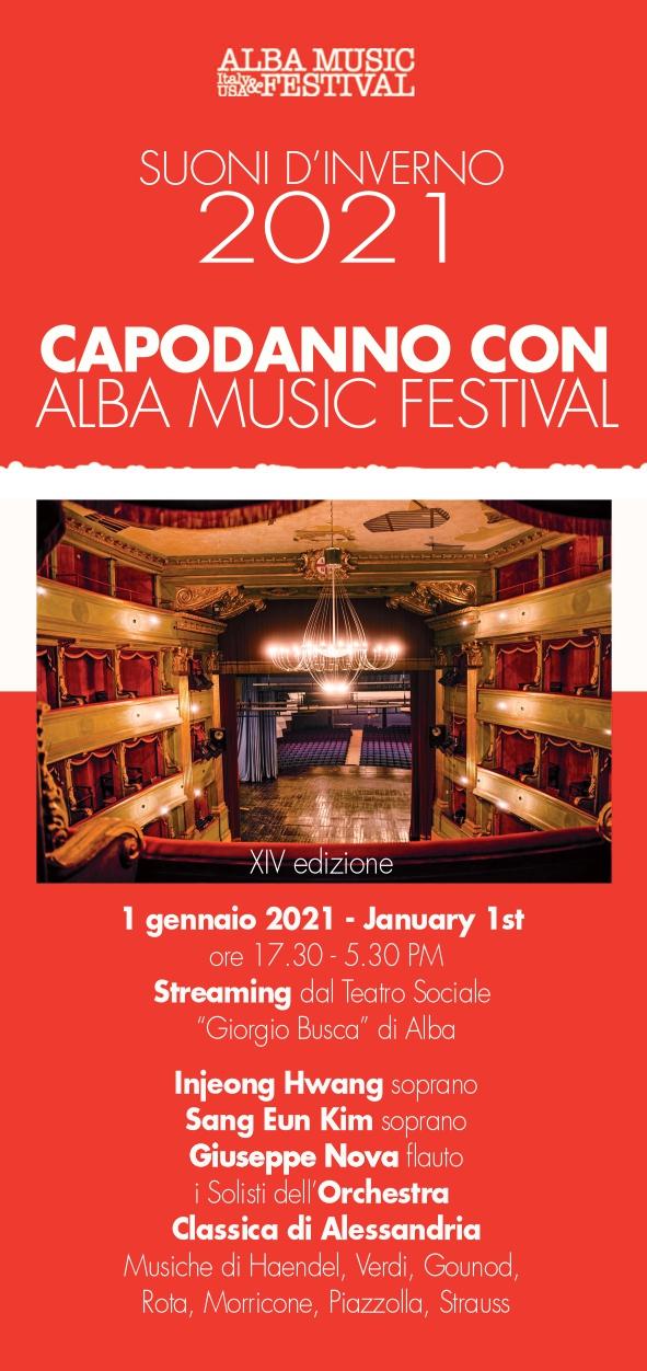 Auguri di Fine anno del presidente Enrico Strada e Concerto di Capodanno